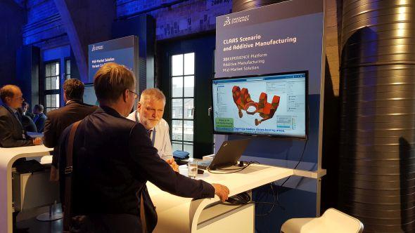 O topologické optimalizaci a navrhování bionických konstrukcí na platformě 3D Experience se hodně hovořilo v předsálí
