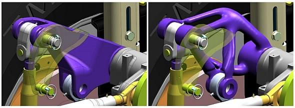 Novinka od Siemensu pomůže stopologickou optimalizaci a navrhováním bionických konstrukcí