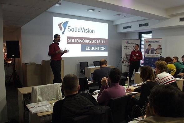 Brněnská EDU konference se pořádala vhotelu eFi. Foto: SolidVision