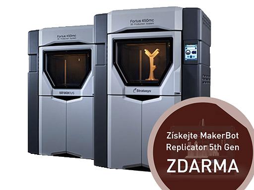 3D tiskárny Fortus 380mc a Fortus 450mc jsou určeny pro výrobu profesionálních prototypů. Foto: MCAE Systems