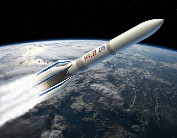 Svývojem vesmírné nosné rakety Ariane 6 pomůže řešení Winning Program od společnosti Dassault Systèmes. Foto: Dassault Systèmes