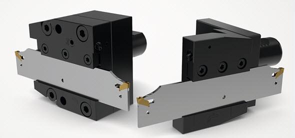 Upichovací systém 150.10-Jeti umožňuje výškové nastavení řezné hrany, které přispívá kzajištění optimální polohy břitu. Foto: Seco