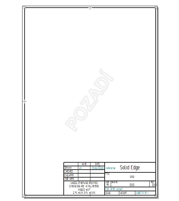 Dokreslete zbytek rámečku a uložte dokument (Ctrl + S)