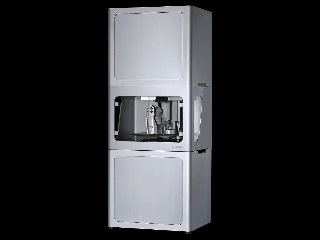 Tým Markforged představil novou 3D tiskárnu Metal X na světové výstavě CES konané v lednu 2017 v americkém Las Vegas (foto: Markforged)
