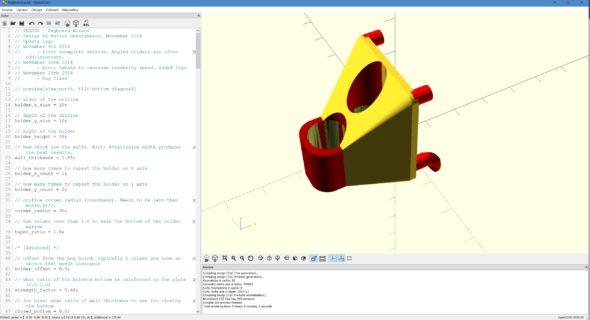 OpenSCAD: Bezplatné 3D modelování pro programátory