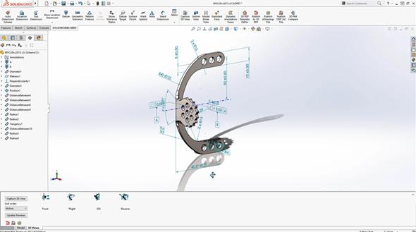SolidWorks CAM využije potenciál bezvýkresové dokumentace zpracované vSolidWorks MBD. Inteligentní obrábění rozpozná tolerance i požadavky na kvalitu opracování povrchu. Foto: Marek Pagáč