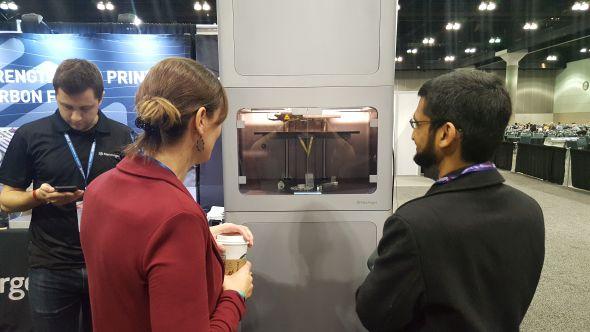 Levnější 3D tiskárnu kovů představila společnost Markforget. Více informací o nové technologii 3D tisku kovů a ceně 3D tiskárny se dozvíte na portálu 3D-tisk.cz. Foto: Marek Pagáč
