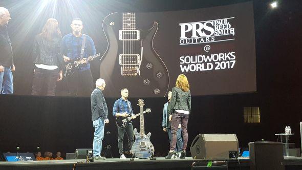 Jednou zpřípadových studií, kde SolidWorks sehrál hlavní roli při návrhu kytary, představili sami autoři zPaul Reed Smith Guitar. Foto: Marek Pagáč