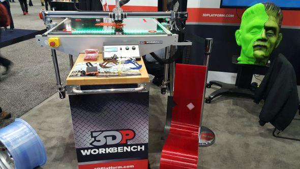 Společnost 3DPlatform představila 3D FDM tiskárnu sneobvykle velkou stavební plochou. Foto: Marek Pagáč
