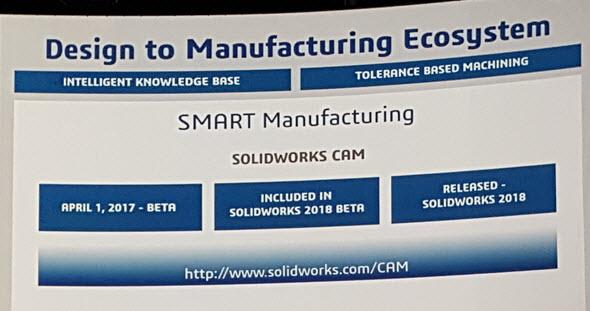 Řešení SOLIDWORKS CAM bude dostupné začátkem května ve verzi Beta