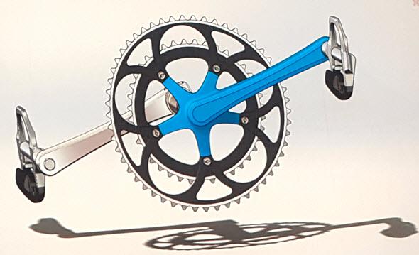 Topologickou optimalizaci a návrhy nosníkových konstrukcí vSolidWorksu zajistí řešení nTopology. Na obrázku je znázorněný původní návrh modelu šlapky jízdního kola. Foto: Marek Pagáč