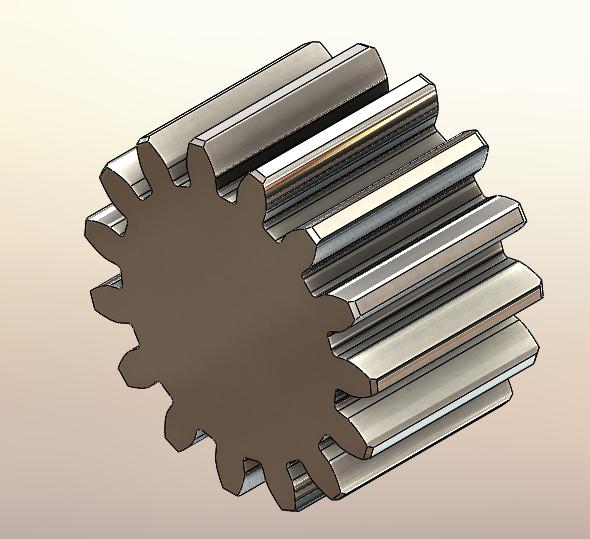 Tipy a návody pro SolidWorks: Konstrukce ozubeného kola