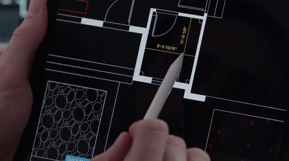 AutoCAD 2018 je dostupný i jako verze pro mobilní zařízení. Foto: Autodesk