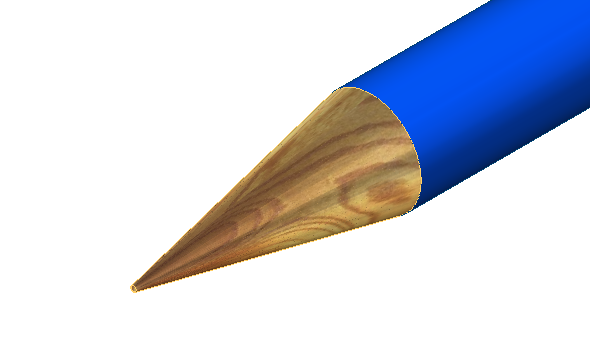 Vyberte plochu (hrot) tužky