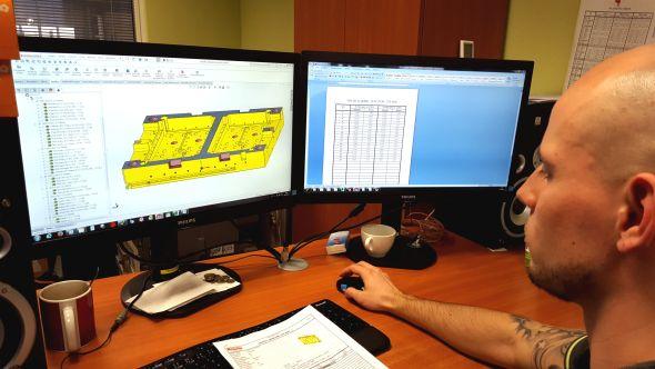 SolidCAM používají ve firmě čtyři programátoři