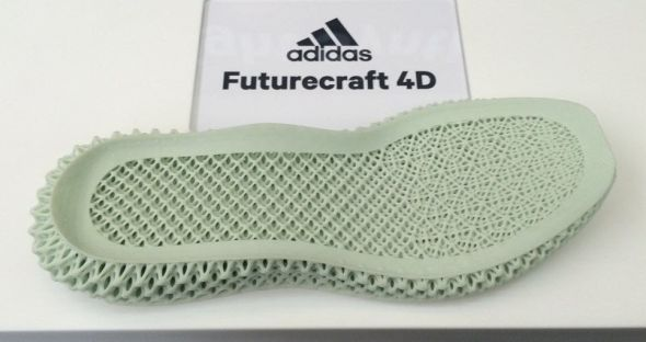 Podrážka sportovní obuvi vyrobená 3D tiskem