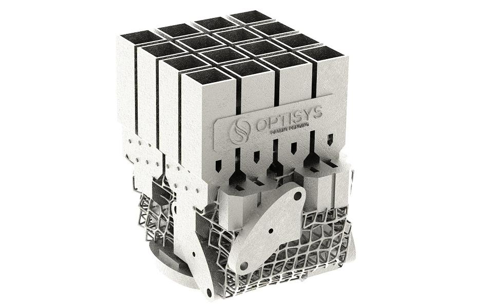 Jak zmenšit 100dílnou anténu do jediného 3D výtisku z kovu