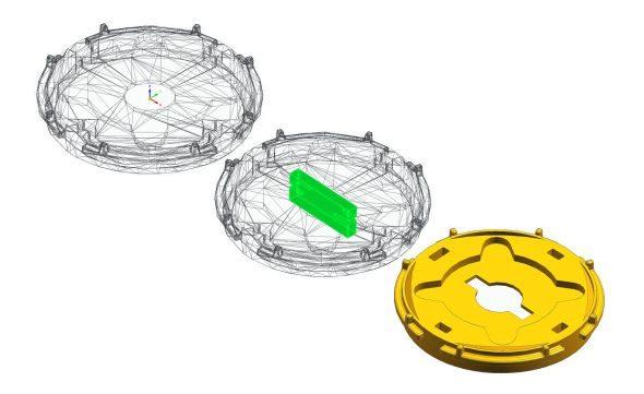 Technologie Convergent Modeling zjednodušuje práci simportovanou geometrií. Foto: Siemens PLM Software