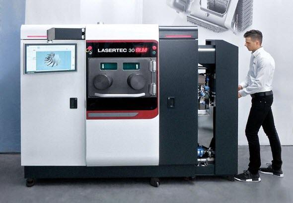 DMG Mori vstupuje do aditivní výroby s novým strojem Lasertec 30 SLM