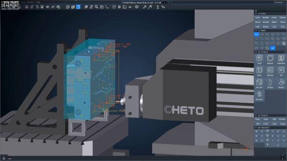Tebis posiluje o výkon v přípravě drah pro CNC programování