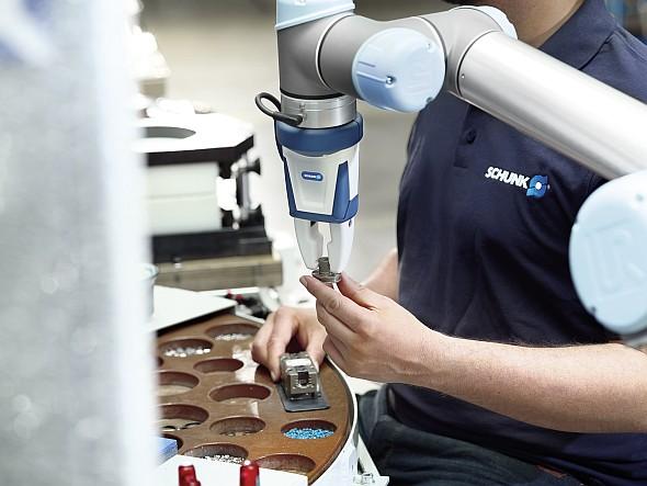 Schunk uvádí první certifikované průmyslové chapadlo pro kolaborativní provoz