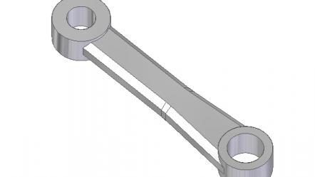 Začínáme se Solid Edge: Modelování malé ojnice