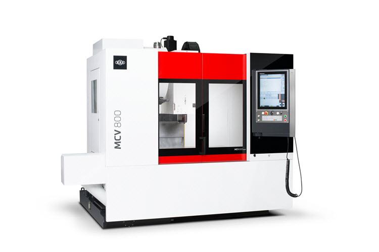 Kovosvit MAS představí na Slovensku v netradičním pojetí CNC stroj MCV800