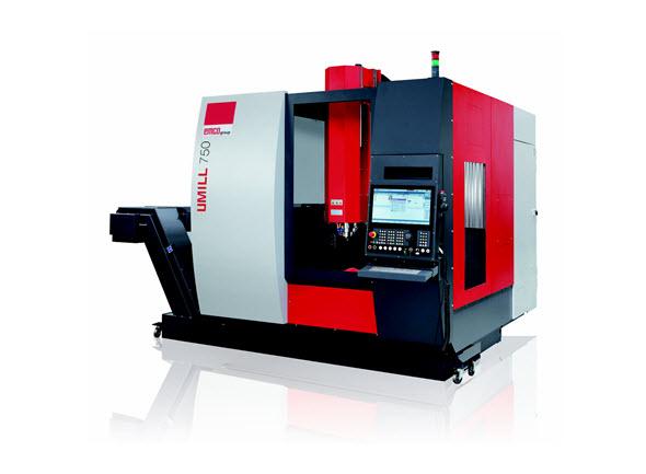 EMCO představilo nové simultánní pětiosé CNC obráběcí centrum Umill 750