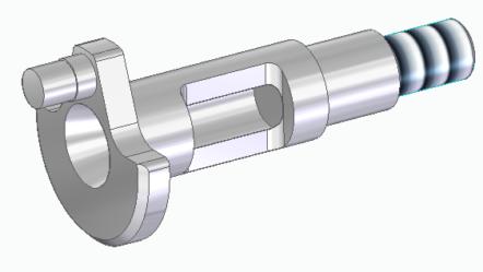 Začínáme se Solid Edge: Modelování jednoduché klikové hřídele #2
